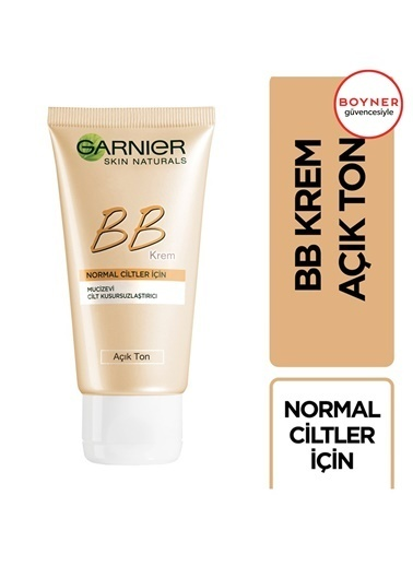 Garnier Garnier Bb Mucizevi Cilt Kusursuzlaştırıcı Normal Ciltler Ton 50 Ml Renksiz